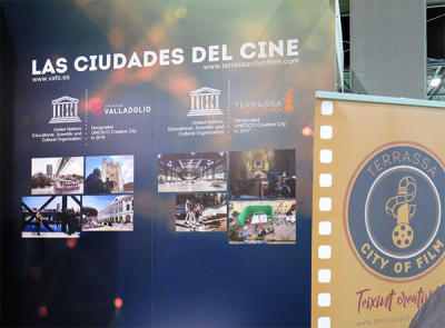 The Terrassa Film Office at FITUR Screen