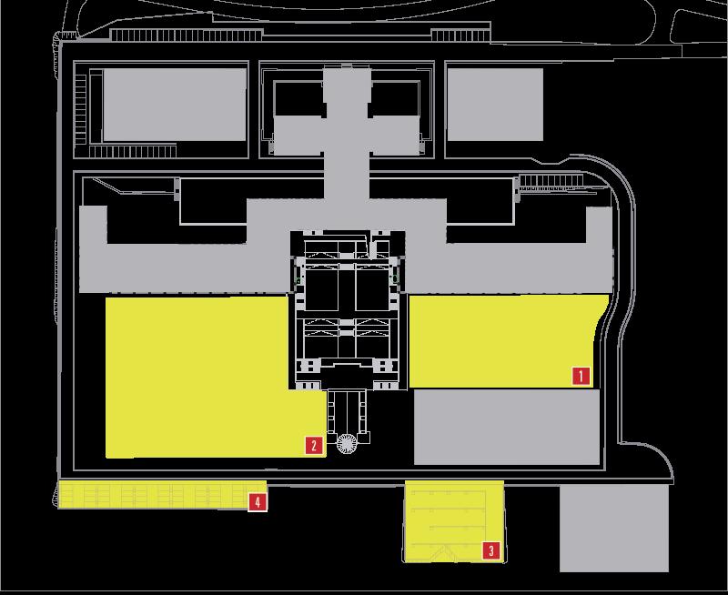 Plànol dels espais de pàrquings i parcel·les