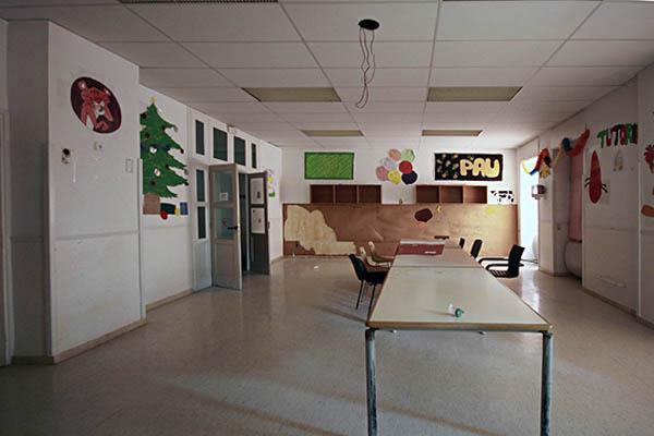 Imatge d'una sala educativa de la Planta -2 Oest, Hospital del Tòrax